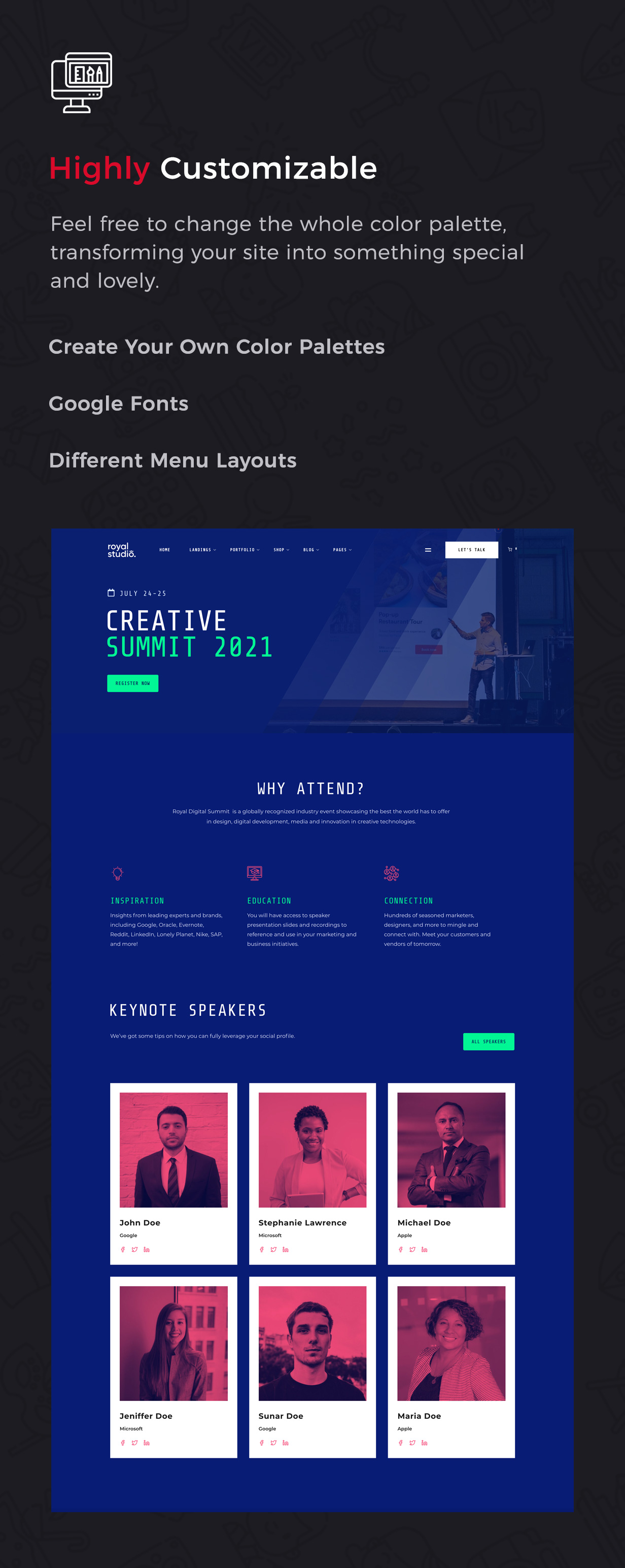 RoyalStudio - Agency & Marketing Theme - 9
