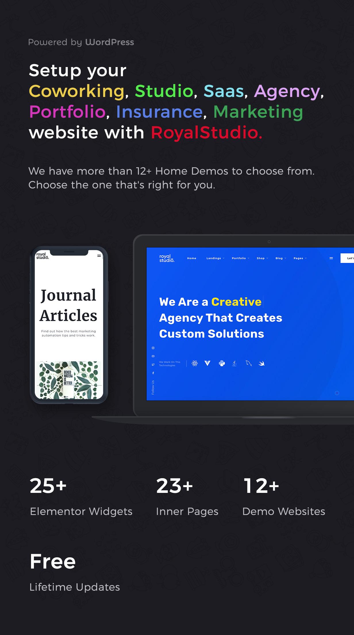 RoyalStudio - Agency & Marketing Theme - 3