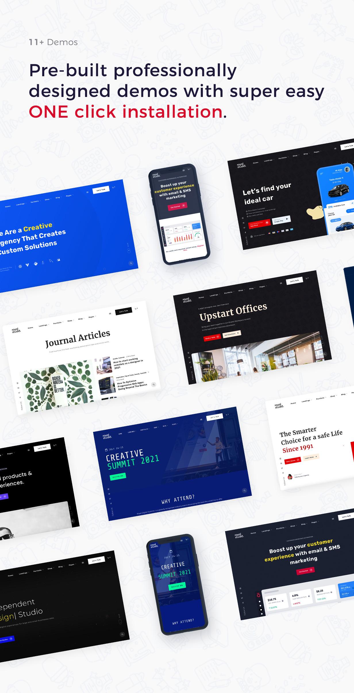RoyalStudio - Agency & Marketing Theme - 4